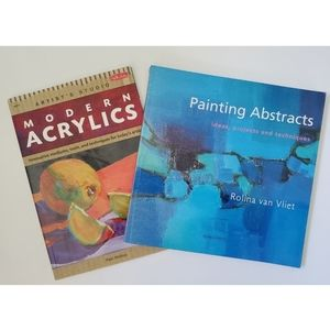 Lot of Acrylic Painting Book